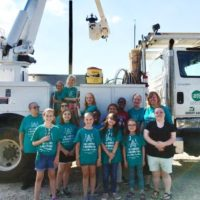 South River Electric Membership Corporation Hosts Girl Scout Troops
