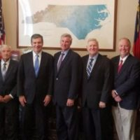Co-Op Leaders Meet with Gov. Cooper