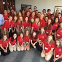 Youth Leadership Council Members Return to D.C.