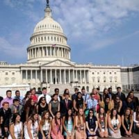 Youth Tour Underway in Washington, D.C.