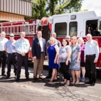 Union Power Provides Funding for Fire Truck