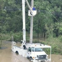 Texas Electric Co-ops Grapple with Flooding in Harvey's Wake