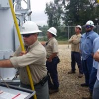Co-ops Participate in Substation Training
