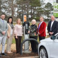 SYEMC Adds EV Rate and Charging Stations