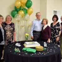 Four County EMC Honors Board Member Blanchard for 50 Years of Service