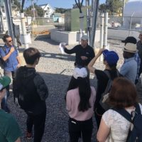 Duke University Students Get Firsthand Look at Ocracoke Microgrid Project