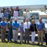 Edgecombe-Martin County EMC Donates Truck to Lineman Program