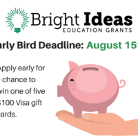 Teachers Can Win $100 by Applying for a Bright Ideas Grant by Aug. 15