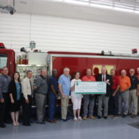 Piedmont Electric Facilitates $70,000 Zero-Interest Loan for Leasburg Volunteer Fire Department