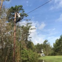 N.C. Co-op Restoration Work Continues; Outages Now Down to 23,000
