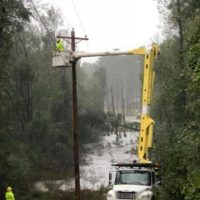 Steady Progress By North Carolina's Electric Cooperatives Brings Outages to 140,000