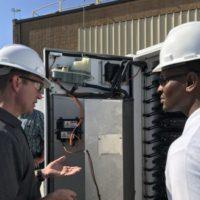 N.C. DEQ Secretary Michael Regan Visits Ocracoke Microgrid Project