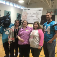 EnergyUnited and Carolina Panthers Celebrate Bright Ideas Grant Award