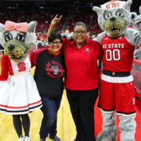 Co-op Kenan Fellows Recognized at N.C. State Basketball Game