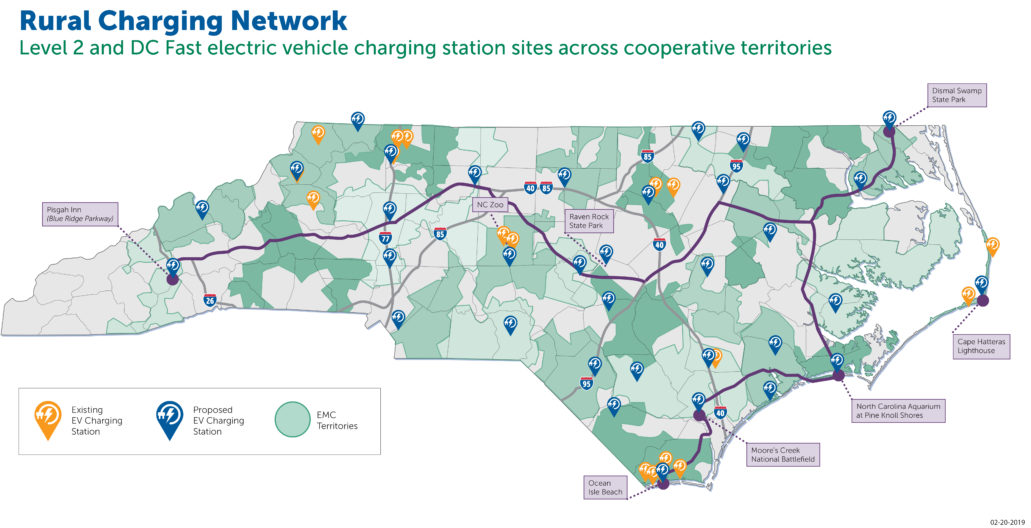 Electric Vehicles North Carolina S Electric Cooperatives North