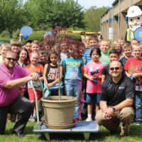 SYEMC Celebrates Arbor Day at Local Elementary School