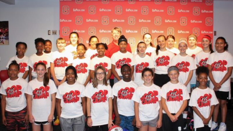2019 Touchstone Energy Scholarship Winners Attend Basketball Camp
