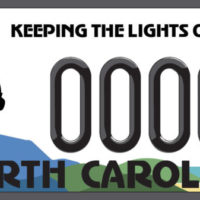 """Keeping the Lights On"" License Plate Now Available"