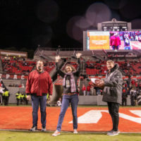 Co-op Kenan Fellow Recognized at N.C. State Football Game