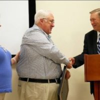 Four County EMC's Dan Allen Receives Order of the Long Leaf Pine