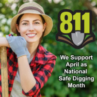 NC Co-ops Support April as National Safe Digging Month