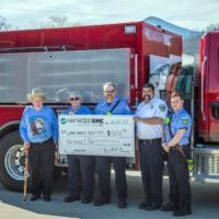 Haywood EMC Sends Thanks to Local VFD