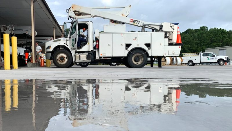 N.C. Electric Cooperatives Report 125,000 Outages as of 6:30 a.m. Tuesday