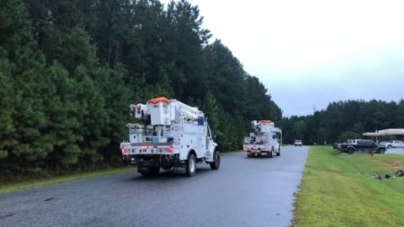 N.C. Electric Cooperatives Send Line Crews to Alabama to Help Restore Power Outages Caused by Hurricane Sally