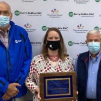 Surry-Yadkin EMC Named Small Business of the Year