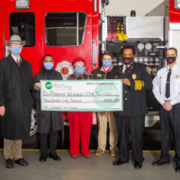 Halifax EMC Secures REDLG Funds for Local Volunteer Fire Departments