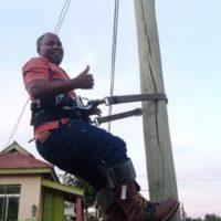 Surry-Yadkin EMC Employee Coordinates Gear Donation for Ugandan Lineman